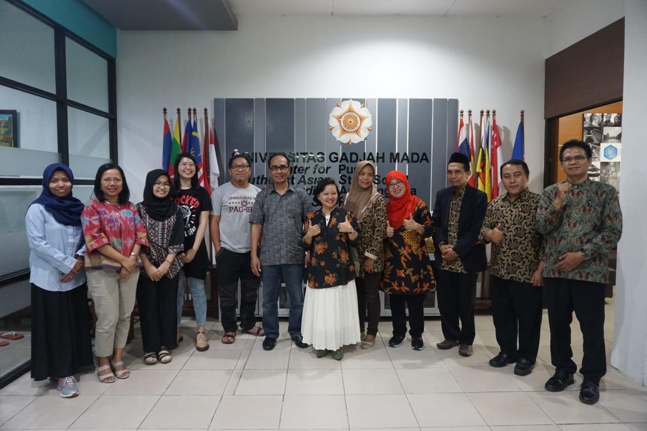 UIN ofSunan AmpelSurabaya visited Center for Southeast Asian Sosial Studies